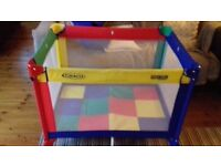 Graco travel cot or play pen - good condition, little use! Bargain at £30.