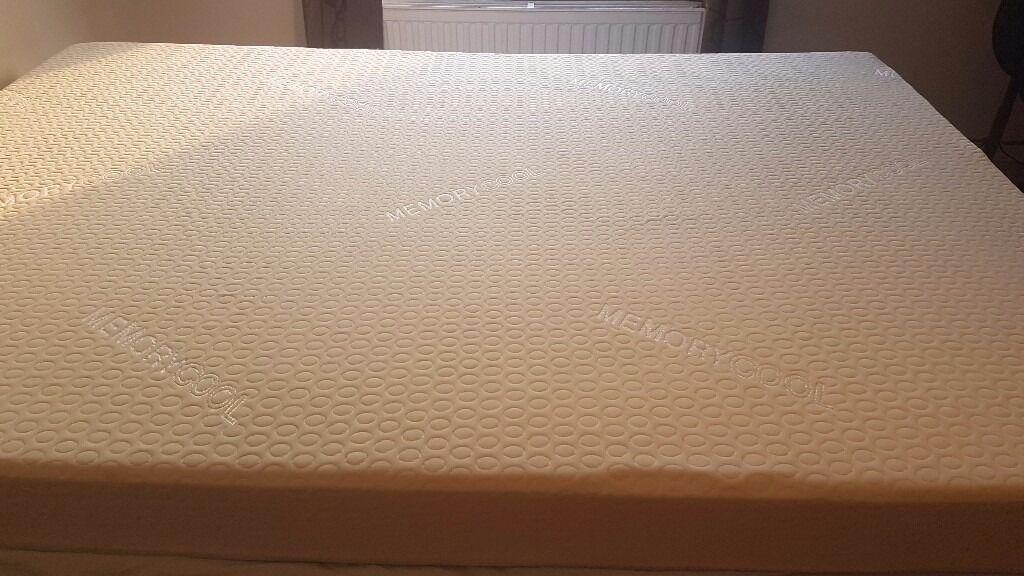 new double mekory foa reflex foam mattress from wayfair & wood base
