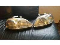 Honda civic ek ej9 front car headlights