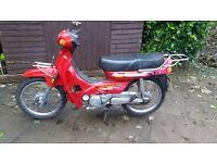 motorbike scooter step through 100cc full mot sandbach cheshire 2005