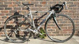 Saracen Road Bike with Bianchi fork