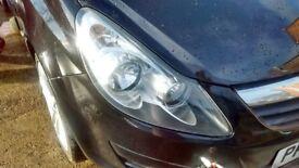 Vauxhall Corsa, 1.4SXi, 2006 face model, os headlight