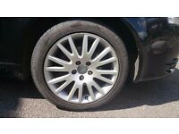 "Audi 17"" Ronal alloy wheel and tyre."
