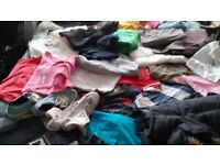 JOB LOT OF NEW ANUSED SHOES SPORT WEAR COATS TROUSERS TOPS U NAME IT OVER 130 ITEMS £60 LOT NO SORTI