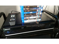 Blu-Ray Player And Films