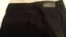 COLIN'S Black Chinos Trouser