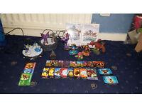 Skylanders Bundle For Xbox 360 & Nintendo Wii (Skylanders Figures, Portal, Bag, Game, Cards)