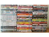70 top Dvds for £35.