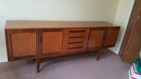 Sideboard with 2 cupboards and 4 drawers