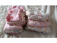 Bundle girls clothing 0-3 months