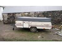 Pennine pullmam vintage caravan