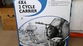 Bike cycle rack (wheel mounted)