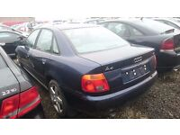 2000 AUDI A4, 1.8 PETROL, BREAKING FOR PARTS ONLY, POSTAGE AVAILABLE NATIONWIDE