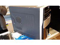 Advent Desktop Pc Amd Phenom 9550 2.2 Ghz Quad Core Cpu/250 Gb Hdd/4 Gb Ram/Windows 7