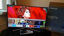 "Samsung 43"" Smart 4K Ultra HD HDR LED TV UE43KU6400 with built-in WIFI, quad core processor"