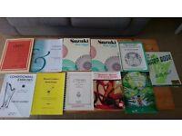 Harp Sheet Music Joblot - Ideal for Beginner - 11 Books.