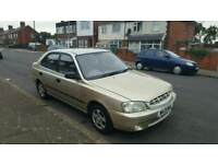 2000 Hyundai Accent 1.3 GSI Automatic 11 Months MOT Cheap Little Auto Car Not Getz Matiz Matrix