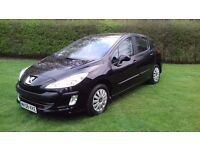 Peugeot 308 automatic 1.6.. 2 owners 4 door full service history immaculate looking car 2008
