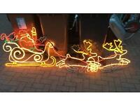 Christmas Outdoor Rope Lights - job lot