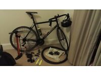 """B-Twin 500 Road Bike, 63"""" frame (with or without kit)"""