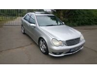 Mercedes 118k 3.2 amg fully loaded