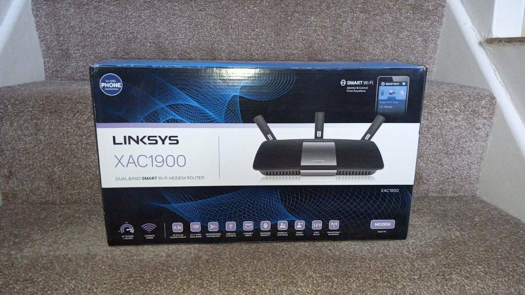 Linksys XAC1900 Modem Router