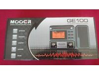 Mooer GE100 Box Guitar Multi-Effects Processor