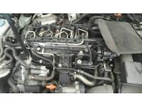 Vw golf mk6 1.6 cr tdi cayb engine done 71k