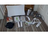 Wii and lots of accessories - Wii Fit Plus & balance board ,Sport, Active and Music bundle