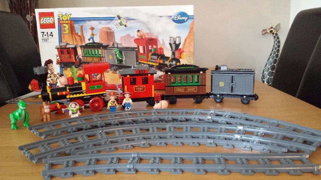 New Toy Story 3 Train : Lego disney toy story western train in