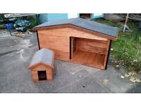 Dog or cat house kennel made to measure