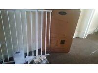 Babystart wall fix extending stair gate