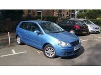 2007 - VW POLO - BLUE - LOW MILEAGE - FACELIFT - NEW SHAPE