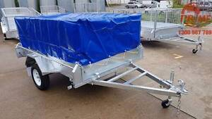 $1900 8x5ft On-Road Hot-Dip Galv Tipper Trailer 14'' LT tyres Pooraka Salisbury Area Preview