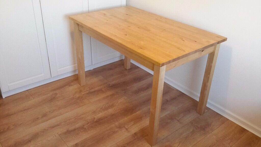 Real Wood Kitchen Table Solid Wood Kitchen Table Ikea Bj