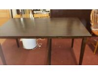 New wood veneer dinning table can deliver or collection