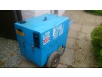 SOLD - 6kva generator for sale. Diesel. Good condition.