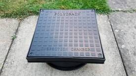 MINI 300mm ACCESS CHAMBER COVER & FRAME