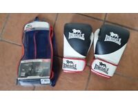 Lonsdale Boxing gloves - 16oz - PRO Training Gloves Mesh Carry Bag