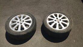 Vauxhall wheels x2