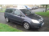 vauxhall zafria CDTI 1.9 DIESEL (would take cash plus a smaller car)