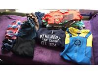 Bundle of boys clothes 4-5.