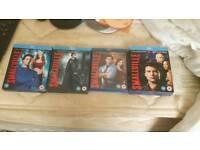 Smallville season 6 to 9 original blu-ray boxsets