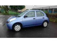 Nissan Micra 1.2 petrol Automatic Low Warranted mileage Cheap to run and insurance