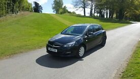 Vauxhall Astra 1.6 Exclusive 2013/13 Facelift 5 dr