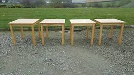 Small tables