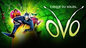 Cirque Du Soleil Manchester Arena Sat 29th Sept
