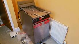 Commercial three phase fryer