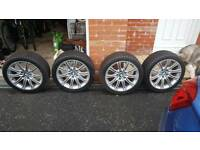 BMW MSport Alloy Wheels and Winter Tyres