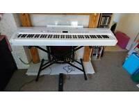 White Roland FP7F SuperNATURAL Piano
